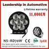 Truck Parts 6Inch 70W LED Work Light, CREE Car Lamp, 70W Auto LED Tuning Light