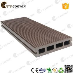 High quality UV-resistance hollow ribbed wpc decking