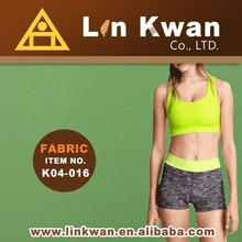 Linkwan Taiwan polyester cotton sportswear high quality knit fabric 2015 new