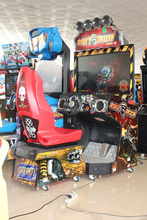 Car racing game machine/Coin operated driving car /Simulator arcade racing car game machine/Crazy driving simulator game machine