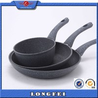 Doesn't occupy space granite stone fry pan of Yiwu