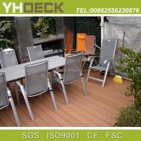 wpc decking outdoor flooring wood plastic composite decking