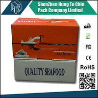 Frozen Seafood Refrigerator Shrimp Packing Boxes