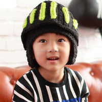 2015 New Autumn Winter Boy Girls Children Kintted Hat With Mask