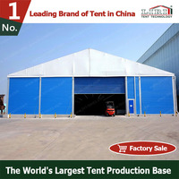 Weatherproof Industrial Aluminium Warehouse Storage Tent 10x20m