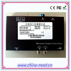 car parking sensor system with guiding lines for Benz NTG4.5 A/B/C/CLS/E/SLS series