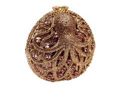 Swarovski metal bag charming crystal for elegant ladies party clutch bag