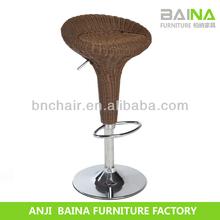 Good quality vintage stool rattan bar furniture