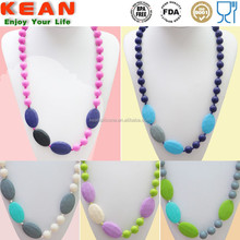 Innovation design personalized teething jewelry mothers necklaces