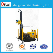 Powerful and reliable engine 200m shallow water well drilling rig