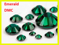 Wholesale ss16 4mm Emerald Crystal Design For Clothes