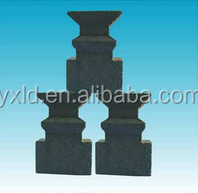 wear-resistant refractory material of concrete blocks
