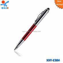 half silver plate promotion advertising stylus ball pen