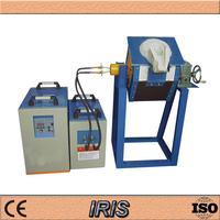 2015 hot sale 40kg small smelting furnace