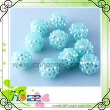 12mm loose shamballa beads of jewelry components