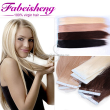 FBS hair Factory Cheap Price Remy Double Drawn Remy Tape Hair Extensions
