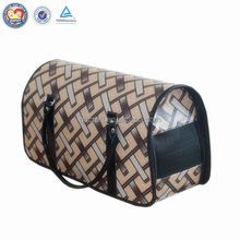 Best selling foldable lightweight recyclinig plastic pet cage dog carrier
