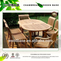 2015 hot sale wooden outdoor furniture