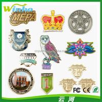 Winho Custom Design Enamel Metal Badge
