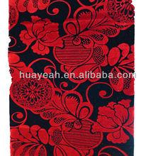 diseño de la flor acudieron telas africanas para la venta