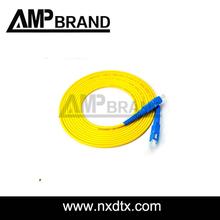 AMPbrand sm simplex core fibre optic patch cord
