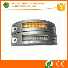 aluminum led solar road marker light