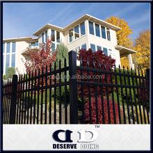 Aluminum Picket Fence Gate For Garden,decorative garden fencing