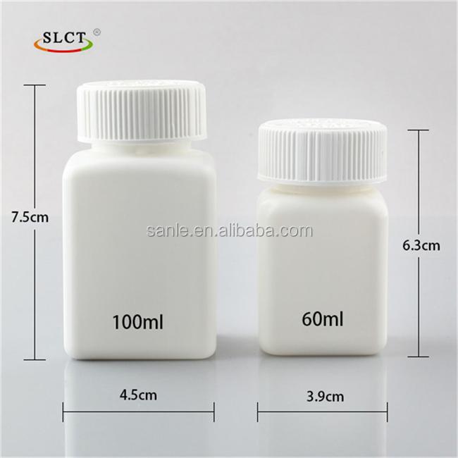 Hot PE Custom plastic pill vials