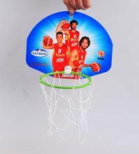 Kids basketball set basketball hoop net and board