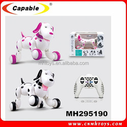 Newest intelligent rc dog high quality cute dog,new product rc dog brinquedo