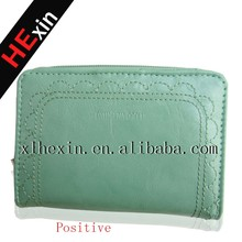 2015 fashionable female leather wallet