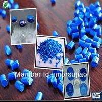 food grade plastic blue Color master batch for PE, PP, PS, ABS, PET blow moulding