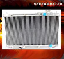 2-ROW Car FULL ALUMINUM RACING RADIATOR for 01-05 HONDA CIVI C M/T (DENSO) MT