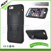 High quality Super Armor multi colors Silicone and PC Hybrid case Stand Cover for iPhone 6 Plus