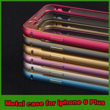 New arrival metal bumper case for iphone 6 with camera protect