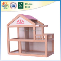2015 pretend play wooden toys kids doll house