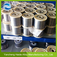 high resistance wire Soft/Bright/Anneal pure nickel wire resistance heating alloys