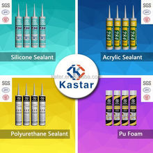 Acid/acetic/acetoxy glass silicone sealant Kastar 731