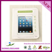 2.5D 9H Tempered glass screen protector for 7 inch tablet