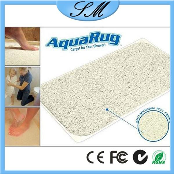Bath Mat Aquarug As Seen On Tv Aqua Rug Shower Carpet Rug