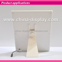 White color acrylic frame countertop led lighted 2016 contemporary table for event