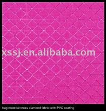 BAG MATERIAL 420D POLYESTER FABRIC WITH PVC BACKING