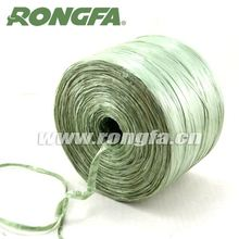 cheap green pp plastic binding raffia for plant