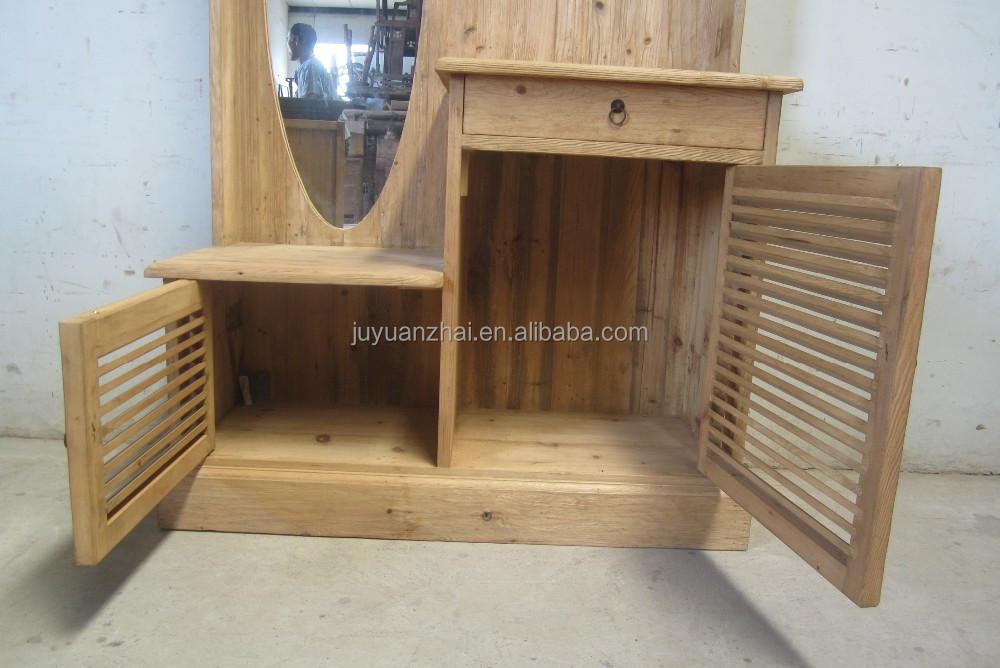 Modernes design altholz schlafzimmer schrank, dressing schrank ...