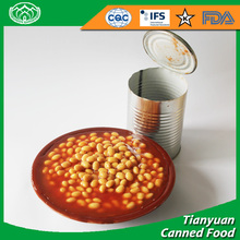 canned soybeans in tomato sauce
