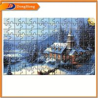 Jigsaw Puzzle Cardboard,Tree Puzzle,Cheap Jigsaw Puzzle Mat