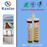 age-resistant high strength injection epoxy glue for steel bar bonding