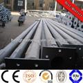 3m-20m de tubos de acero galvanizado para postes de alumbrado público