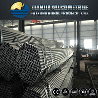 Building materials pre galvanized round steel tube pipe for greenhouse