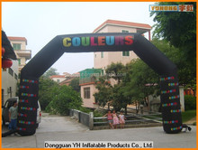 cheap customed inflatable entrance arch with printing